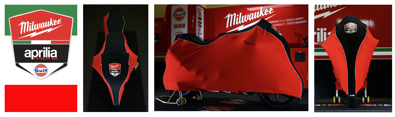 Milwaukee Aprilia Racing Covers