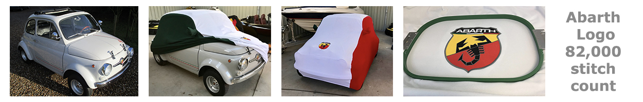 Fiat Abarth 500 Prestige Indoor Car Cover