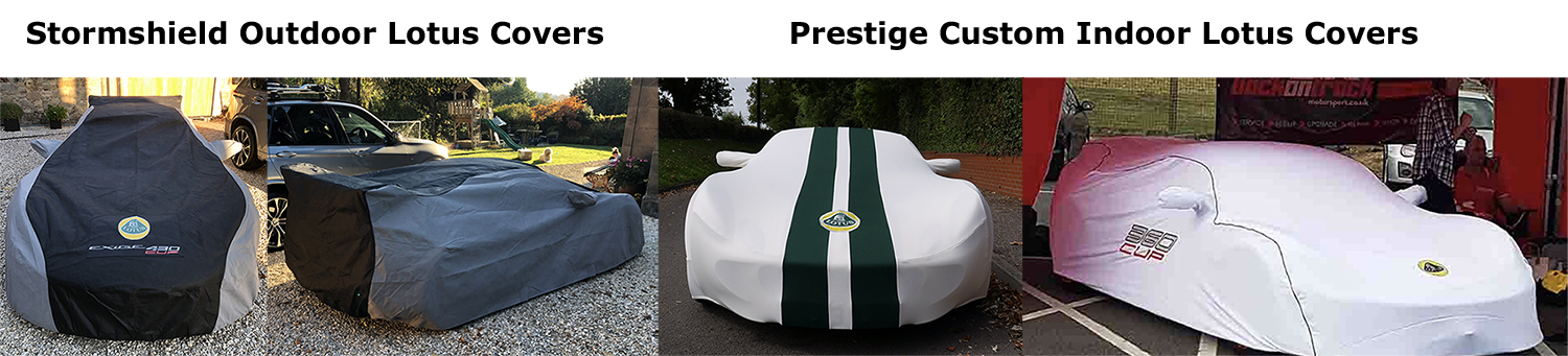 Lotus indoor and outdoor car covers